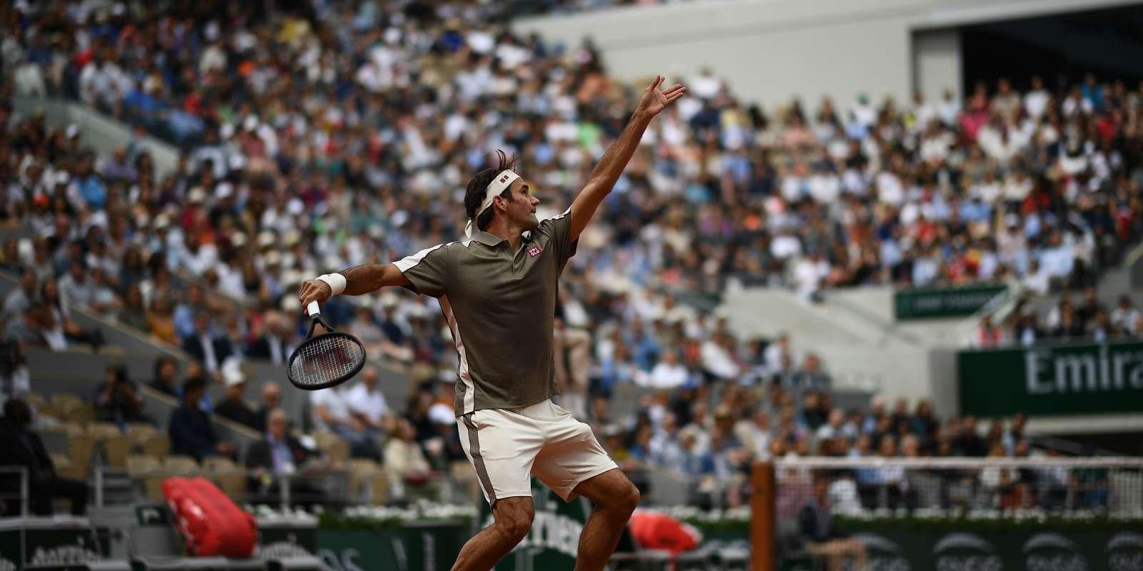 Roger Federer est de retour à Paris.