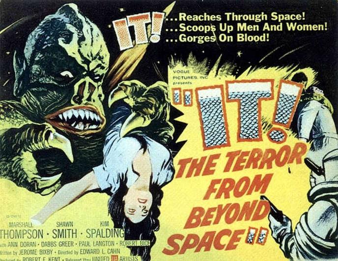 Pour« Variety»,« Alien» n'est qu'une reprise du thème du nanar« It! The Terror from Beyond Space», et son monstre martien s'attaquant à un vaisseau spatial humain.