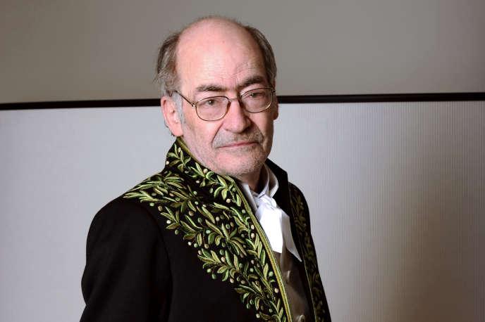 L'écrivain et académicien François Weyergans, ici en juin 2011 à Paris, est mort à l'âge de 77 ans.