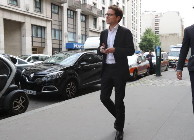 Geoffroy Didier, à Paris, le 27 mai.