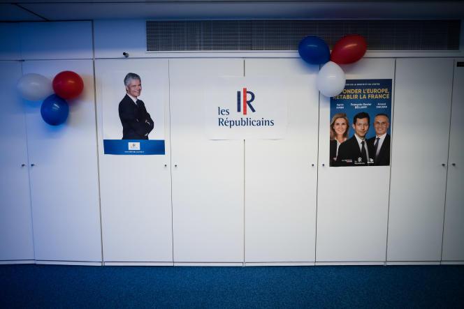 La débâcle de LR aux européennes avec 8,48 % des voix a déjà provoqué la démission de son président Laurent Wauquiez, plongeant le parti dans la crise.