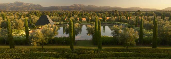 Un jardin de Fernando Caruncho, à Majorque (Espagne).