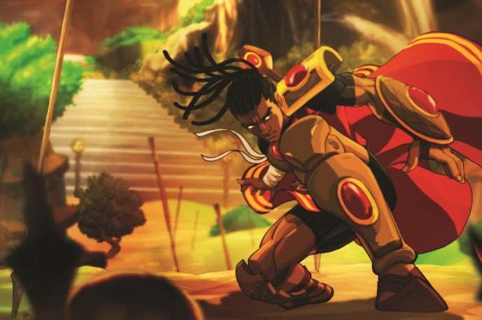 Le personnage Enzo Kori-Odan du jeu«Aurion».