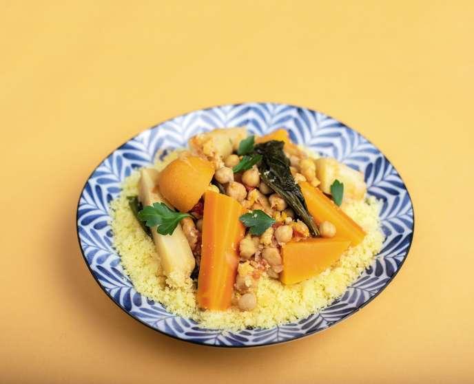 Le couscous végétariende Cyril Aouizerate