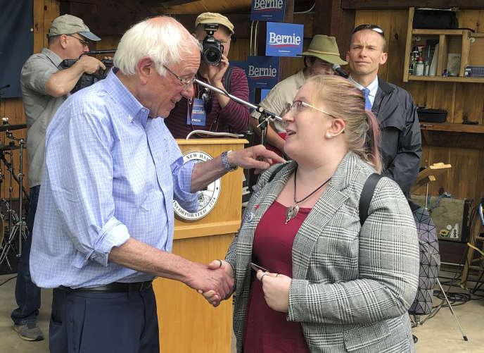 Le sénateur Bernie Sanders à Warner, dans le New Hampshire, le 27 mai 2019.
