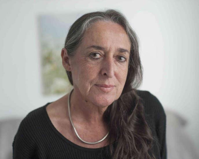 La philosophe Marlène Zarader, à Paris, en 2014.