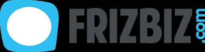 Le logo de la plate-forme Frizbiz,sur laquelle 200000 «jobbers» sont inscrits.