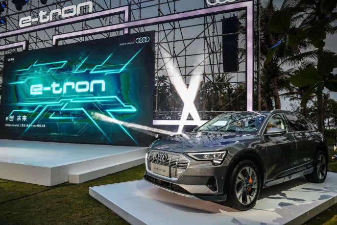 L'e-tron d'Audi.