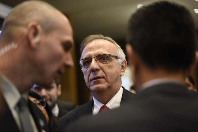 Ivan Velasquez, chef de la Commission internationale contre l'impunité au Guatemala, en mai 2018 à Guatemala.