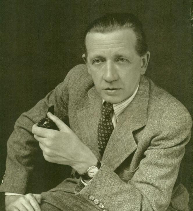 L'écrivain tchécoslovaque Ferdinand Peroutka, dans les années 1950.