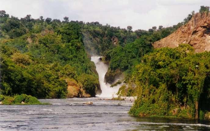 Le parc national de Murchison Falls, en Ouganda, en 2000.