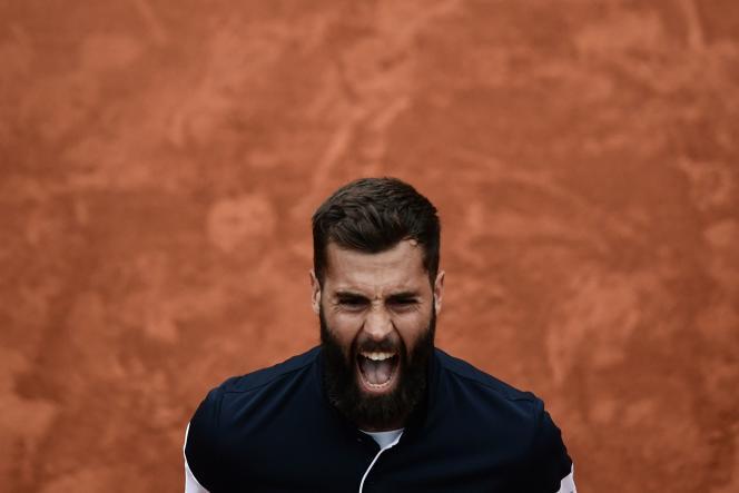 Benoît Paire dispute dimanche son premier huitième de finale à Roland-Garros.