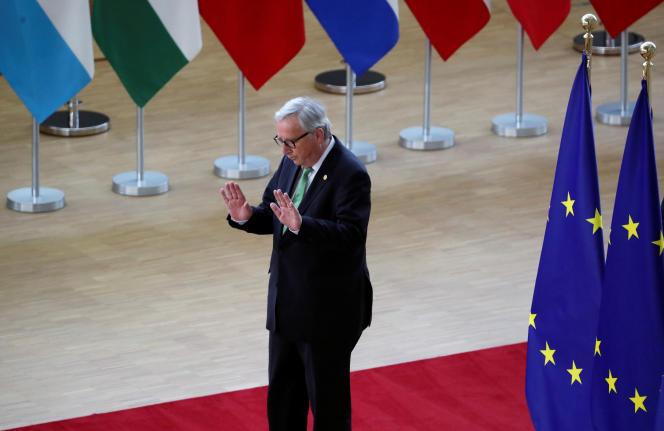 Le président de la Commission européenne, Jean-Claude Juncker, à Bruxelles (Belgique), le 28 mai.