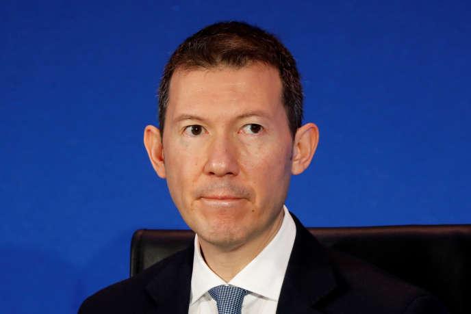 Le directeur général d'Air France-KLM, Benjamin Smith, à Paris, le 20 février.
