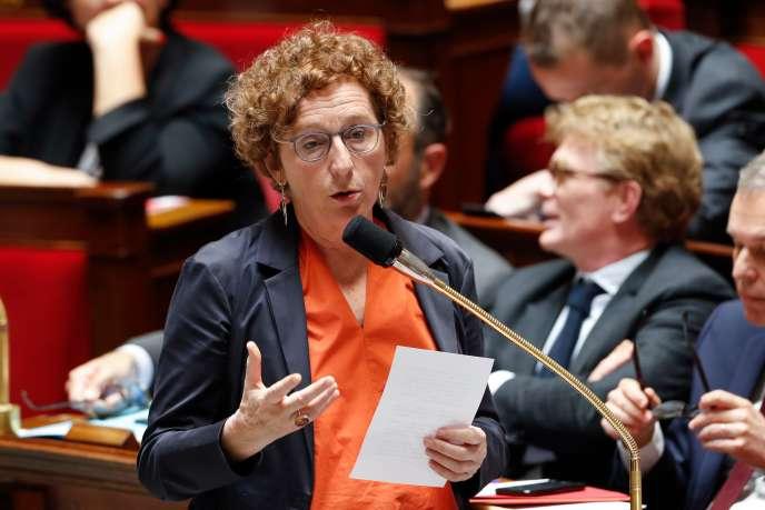 La ministre du travail Muriel Pénicaud à l'Assemblée nationale, le 29 mai.