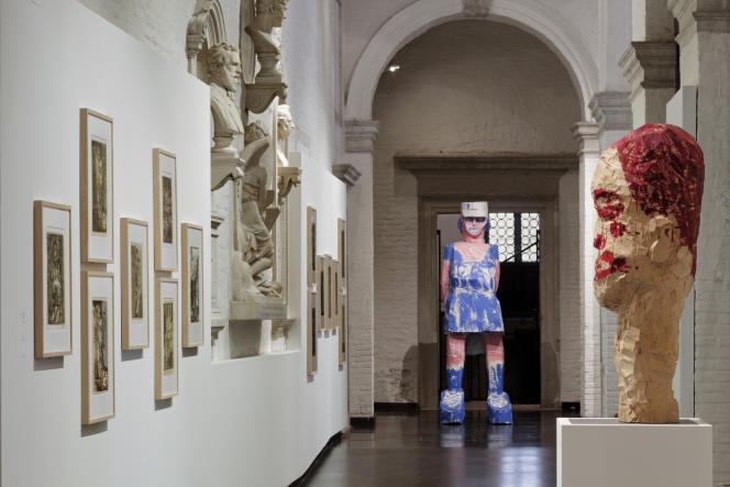Baselitz Academy, Gallerie dell'Accademia et Gagosian Gallery, à la Biennale de Venise.