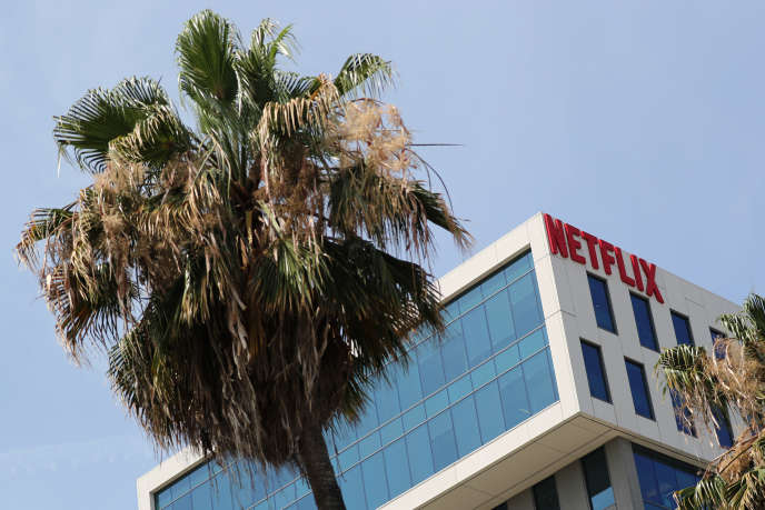 Les bureaux de Netflix à Hollywood (Los Angeles, Californie), en 2018.