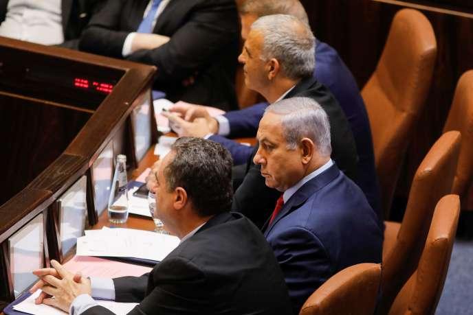 Benyamin Nétanyahou à la Knesset, le 29 mai.