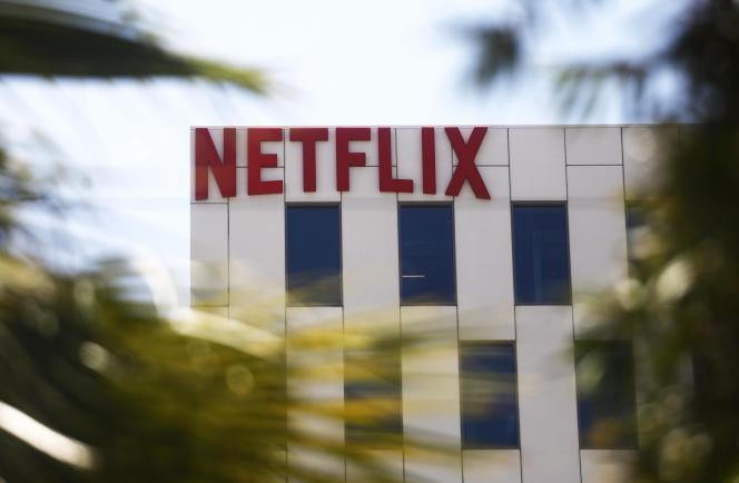 Le siège de Netflix sur Sunset Boulevard à Los Angeles, en Californie, le 29 mai.