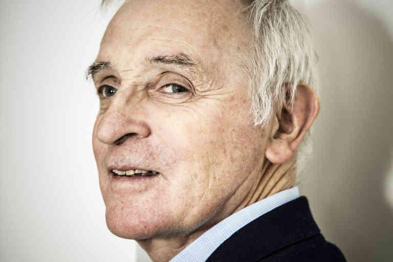 Portrait of Jean Jouzel (climatologist) 29/11/2017 ©Arnaud MEYER/Leextra via Leemage