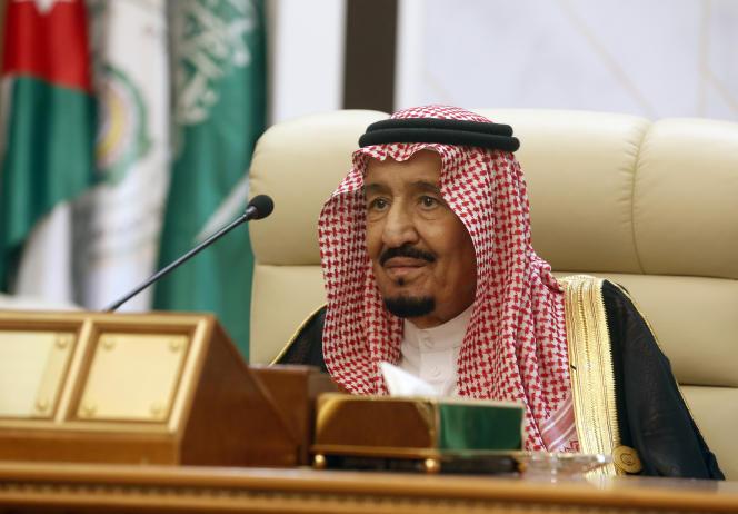 Le roi Salmane d'Arabie saoudite préside un sommet d'urgence des dirigeants arabes du Golfe à La Mecque, en Arabie saoudite, le jeudi 30 mai 2019.