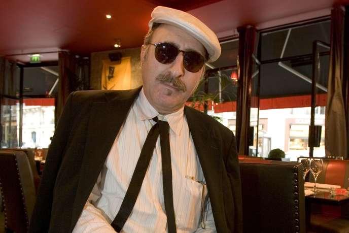 Leon Redbone, le 15 septembre 2005, à Paris.