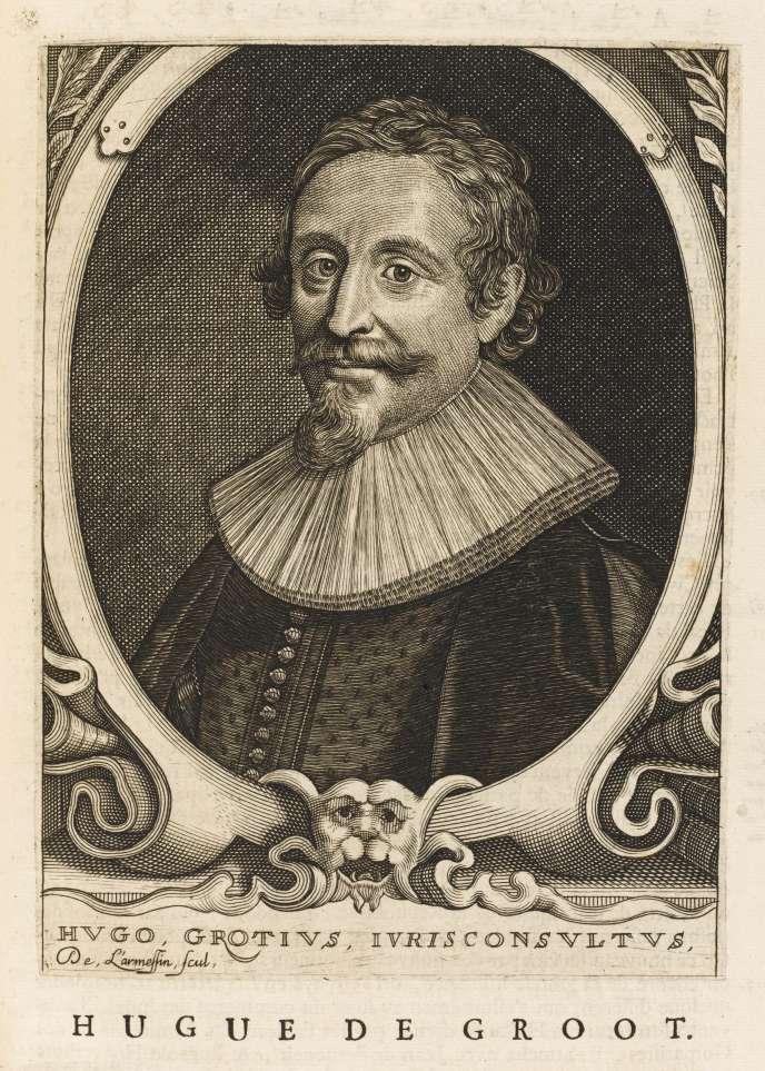 Hugo de Groot, dit Grotius, humaniste et diplomate néerlandais (1583-1645).