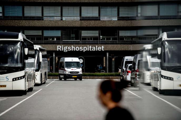 Le Rigshospitalet de Copenhague, le principal centre hospitalo-universitaire danois, en août 2017.