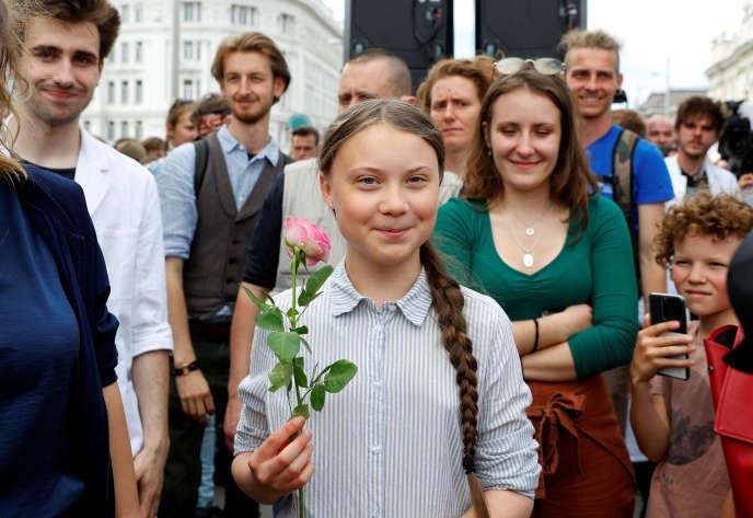 Greta Thunberg reçoit le prix d'«ambassadrice de conscience» d'Amnesty International