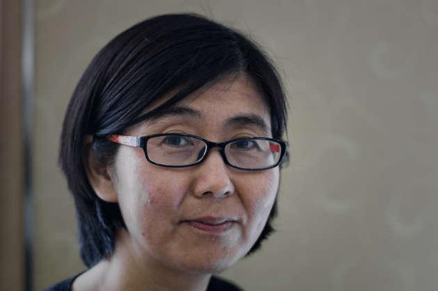 Wang Yu, l'avocate de la militante Cao Shunli, morte le 14 mars 2014 à Pékin, peu après sa détention. Le corps de Cao Shunli était couvert d'hématomes, a-t-elle déclaré.