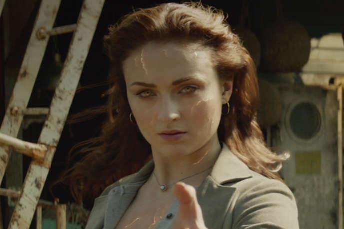 Sophie Turner incarne Jean Grey dans le film américain deSimon Kinberg,«X-Men: Dark Phoenix».