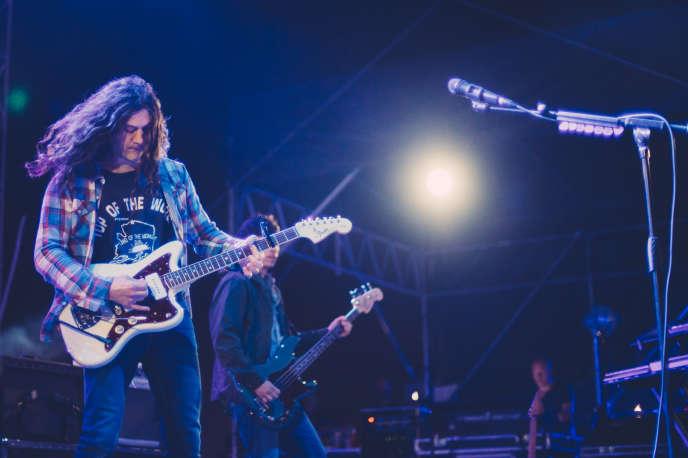 Le guitariste de Philadelphie, Kurt Vile, en concert à laPaloma à Nîmes, le 31 mai.