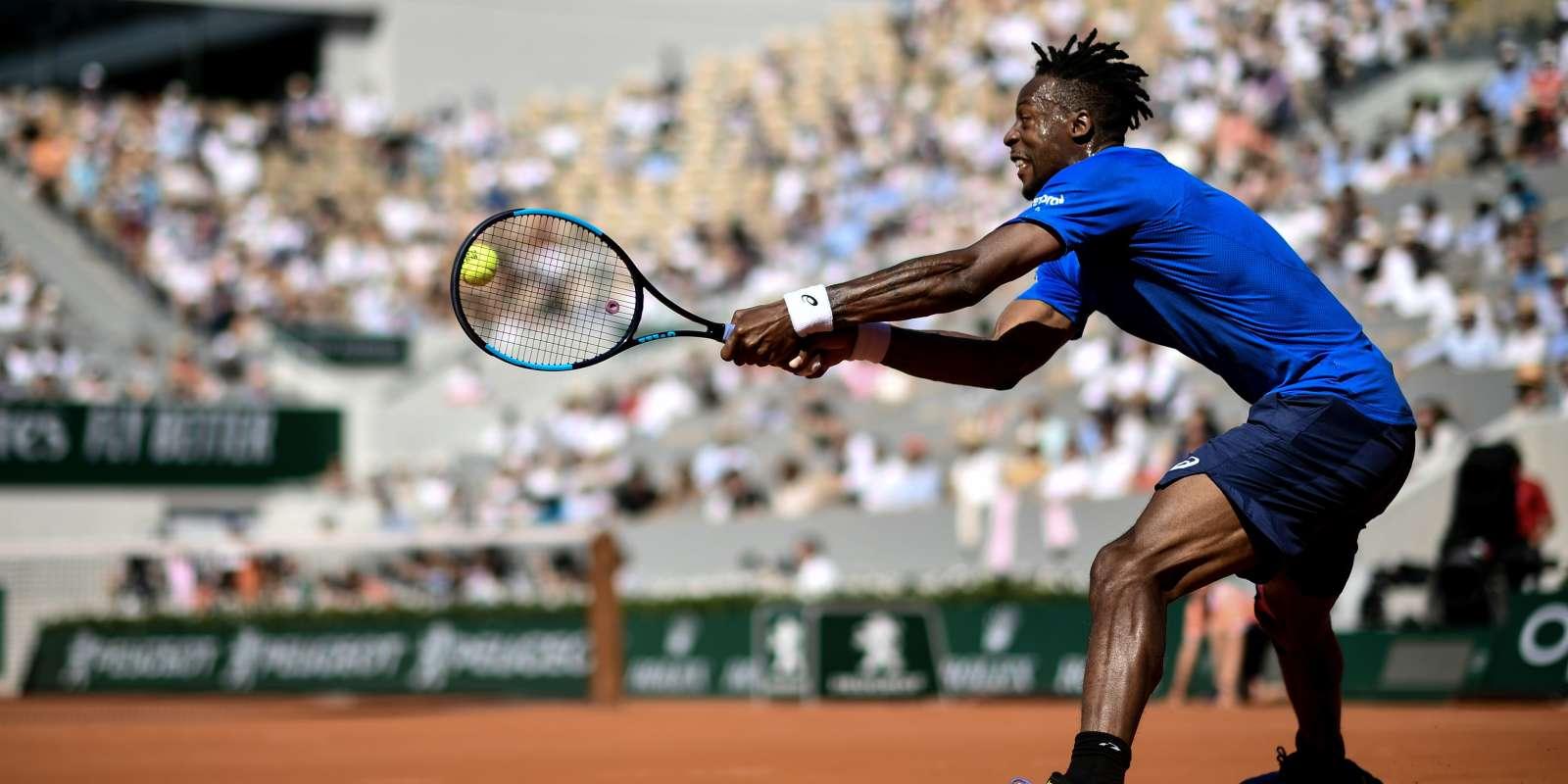 Gael Monfils est en huitièmes de finale de Roland-Garros.