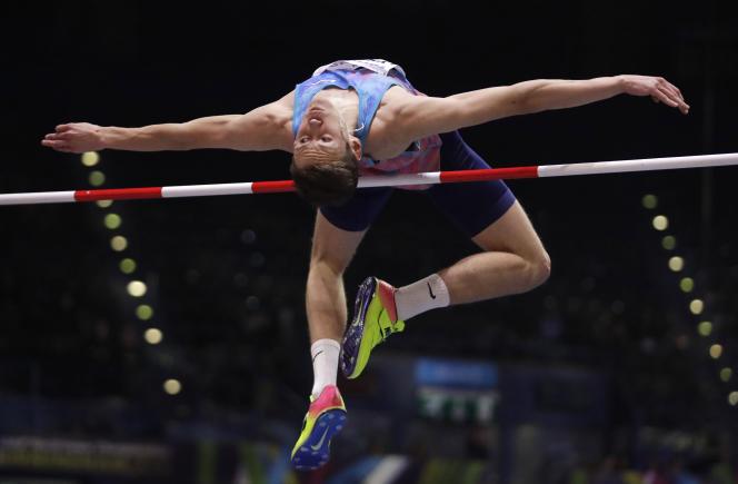 Le Russe Danil Lysenko (ici à Birmingham le 1er mars 2018), a étésuspendu en août 2018 pour ne pas s'être rendu disponible à des tests antidopage.