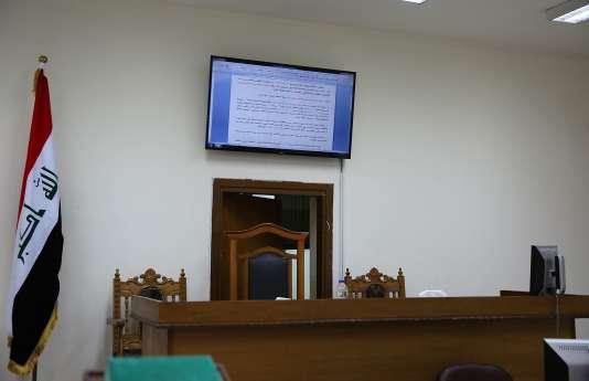 Tribunal du district de Karkh, à Bagdad le 29 mai.