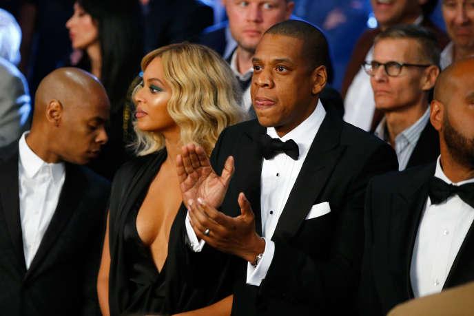 Beyoncé Knowles et Jay-Z à Las Vegas, en 2015.