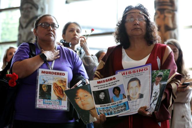 Au Canada, les femmes autochtones «sont douze fois plus susceptibles d'être victimes de violence que les femmes non autochtones», selon le rapport rendu public le 3 juin, au cours d'une cérémonie.
