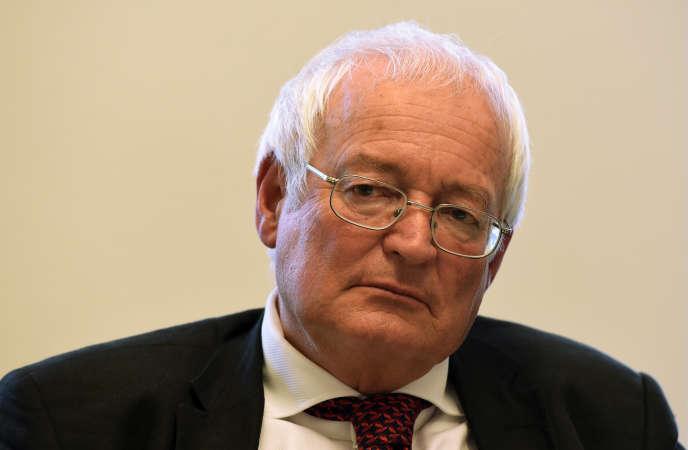 Hans-Joachim Eckert, le 21 décembre 2015.
