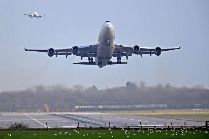 Aéroport de Gatwick, au Royaume-Uni, le 21 décembre .