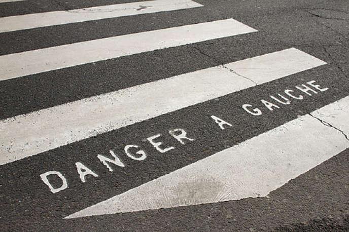 «Il faudrait que les aménagements urbains soutiennent davantage les règles de circulation» (boulevard Saint-Michel, à Paris).