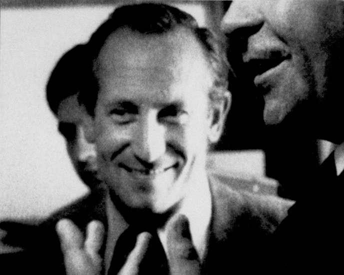 L'agent double Oleg Gordievsky, à Copenhague, au Danemark, en 1976.