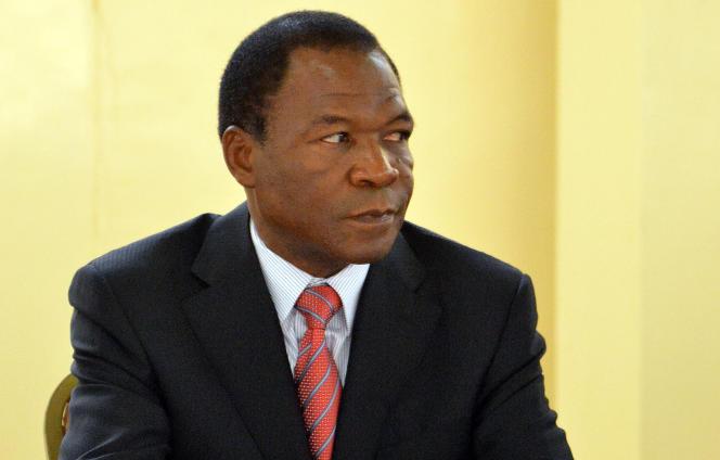 François Compaoré à Ouagadougou, en décembre 2012.