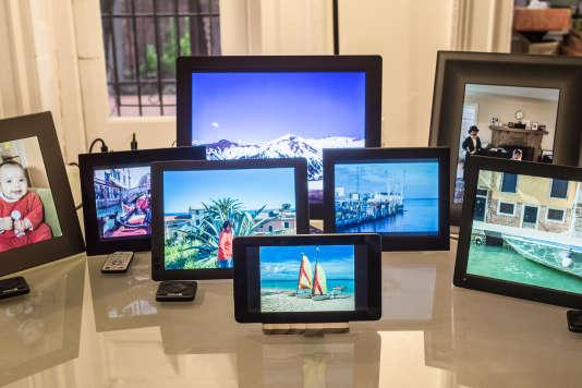 Nous avons testé huit cadres photo à la maison pendant plusieurs jours.