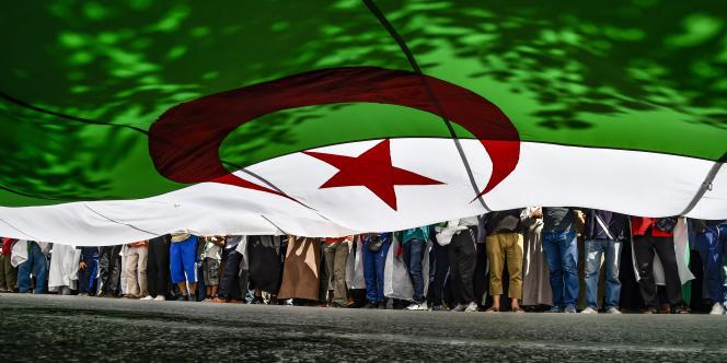 Lors d'une manifestation à Alger, le 31mai 2019.