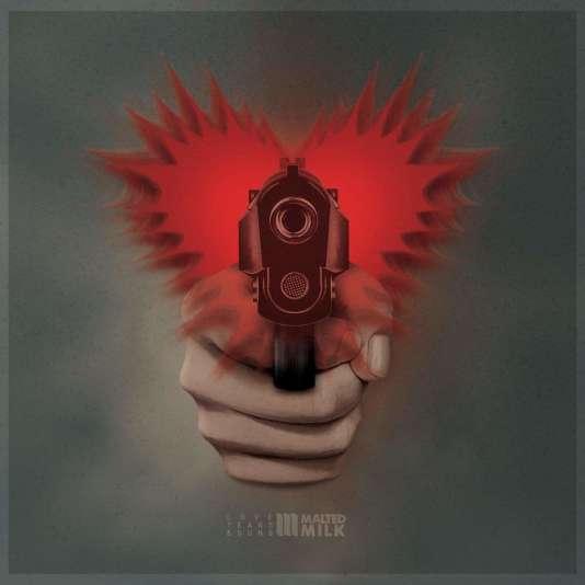 Pochette de l'album«Love, Tears & Guns», de Malted Milk.