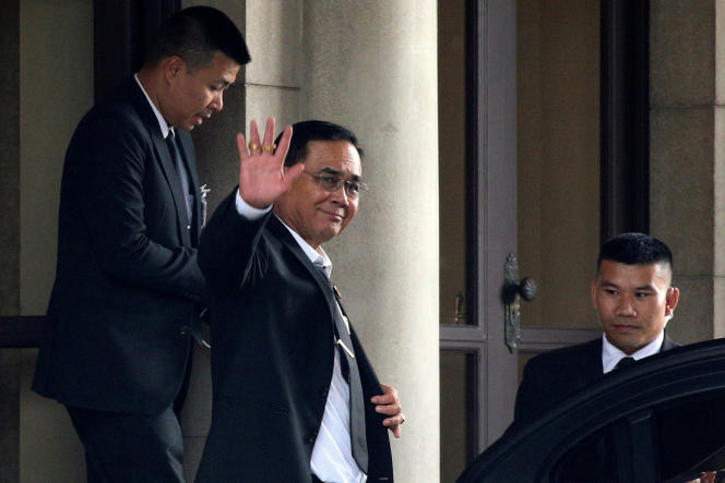 Le premier ministre thaïlandais et chef de la junte,Prayut Chan-o-cha, le 5 juin à Bangkok.