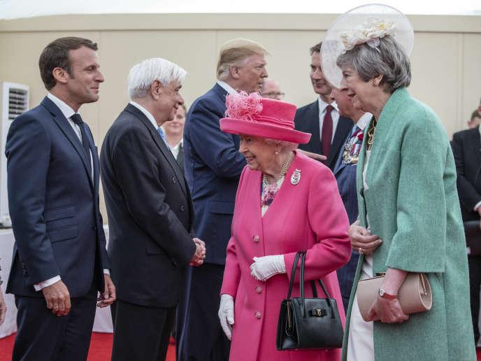 A Portsmouth, le 5 juin.