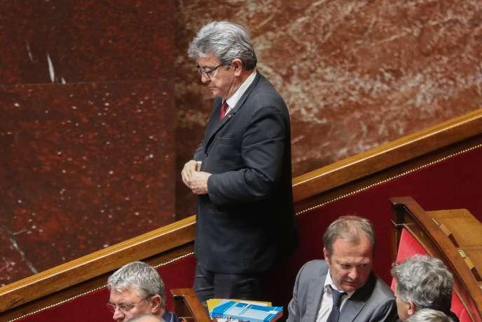 Jean-Luc Mélenchon, le 5 juin à l'Assemblée nationale.