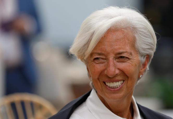 La directrice générale du Fonds monétaire international, Christine Lagarde, le 30 mai àMexico.