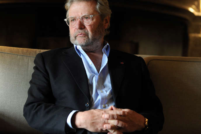 Alain-Dominique Perrin, président de la Fondation Cartier, le 17 novembre 2015.